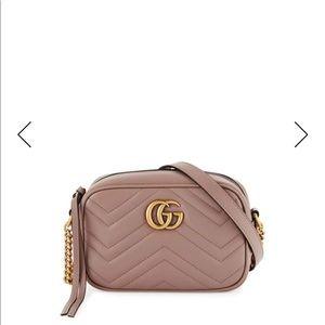 Brand new authentic Gucci Marmont GG mini Rosegold